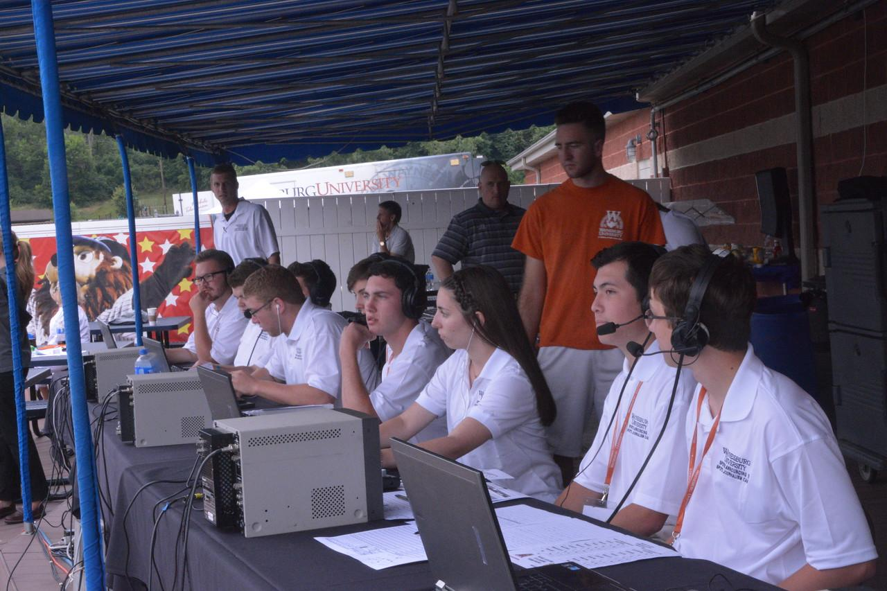 campers broadcasting