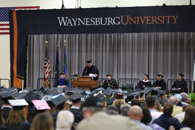 Barensfeld, The Church of the Covenant honored at WU Commencement